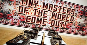 Mark Titchner 'How To Change Behaviour (Tiny Masters Of The World Come Out)', Turner prize 2006