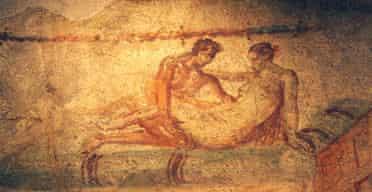Ancient brothel, Pompeii