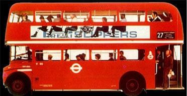 Alan Fletcher's Pirelli slippers bus