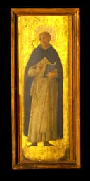 Two panels of a long-lost altarpiece by Fra Angelico