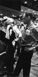 Marilyn Monroe and Arthur Miller on the set of The Misfits