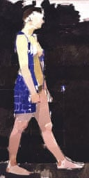 Cherie Blair by Euan Uglow