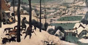 Hunters in the Snow, by Pieter Bruegel