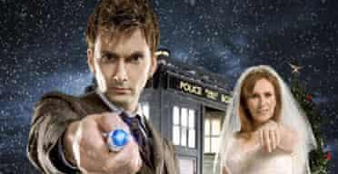 Dr Who on Christmas Day