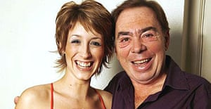 Andrew Lloyd Webber and Sound of Music star Connie Fisher