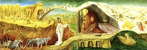 Detail from The Elements by Leonora Carrington