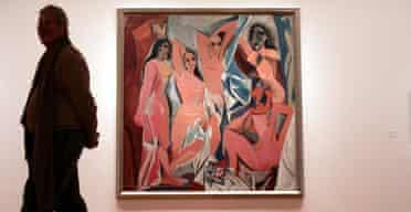 Picasso's Les Demoiselles d'Avignon