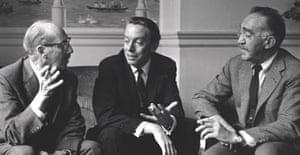 Groucho Marx , Kenneth Tynan and SJ Pevelman
