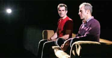 Ty Burrell and Stephen Dillane in Drunk Enough to Say I Love You