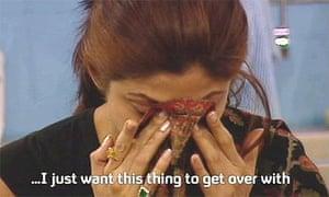 Shilpa Shetty on Big Brother, January 2007