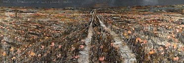 From Anselm Kiefer's Aperiatur Terra at the White Cube, Jan-Feb 2007
