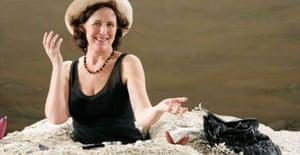 Fiona Shaw in Beckett's Happy Days