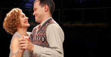 Diana Hardcastle and Will Young in The Vortex
