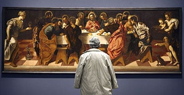 Tintoretto's The Last Supper at the Prado
