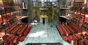 RSC Courtyard Theatre in Stratford