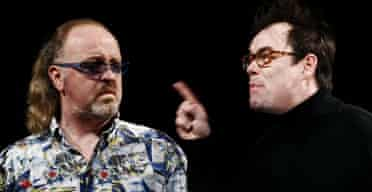 Kevin Eldon and Bill Bailey in Pinter's People at the Theatre Royal , Haymarket