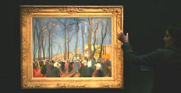 Raoul Dufy's La Foire Aux Oignons at Sotheby's