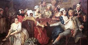 Hogarth's The Rake at Rose Tavern