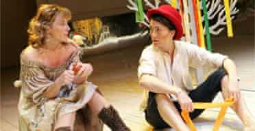 Lisa Dillon and Eve Best in As You Like It
