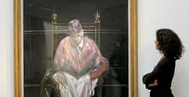 Study for Portrait II by Francis Bacon