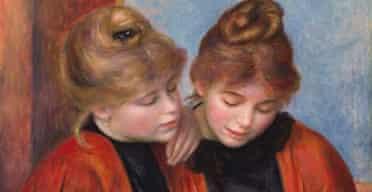 Les Deux Soeurs, by Pierre-Auguste Renoir