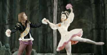 Margot Fonteyn as Princess Aurora and Norman Thomson as The First Prince in The Sleeping Beauty,  1946