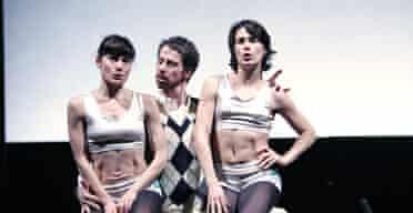 Daphne Strothmann, Michael M Dolan and Rachel Poirier in The Bull, Fabulous Beast Dance Theatre