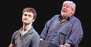 Daniel Radcliffe and Richard Griffiths in Equus