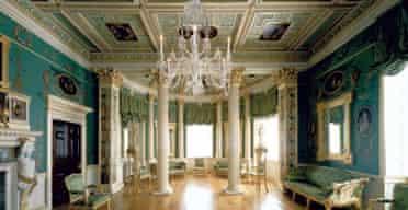 Interior view of Spencer House designed by James 'Athenian' Stuart