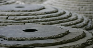 detail of Stone Room by Andy Goldsworthy