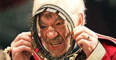 Ian McKellen in King Lear, Courtyard Theatre, Stratford-upon-Avon