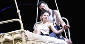 Lyndsey Marshal and Tristan Sturrock in A Matter of Life and Death, Olivier