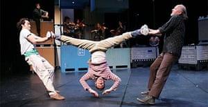 A scene from Import Export, Les Ballets C de la B, Corn Exchange, Brighton Dome