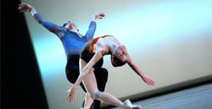 Darcey Bussell and Jonathan Cope in Tryst, Sadler's Wells