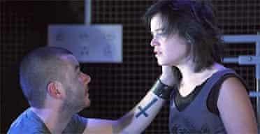 Sebastien Lawson and Gemma Brockis in Speed Death of the Radiant Child