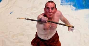 Pete Postlethwaite in The Tempest