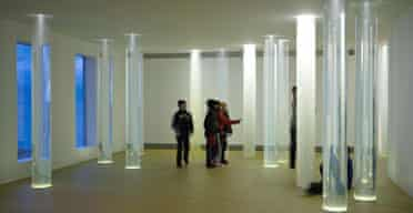 Roni Horn's installation Library of Water