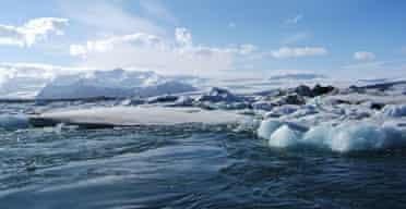 Katie Paterson's Iceland glacier sound installation