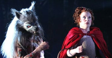 Nicholas Grant and Suzanne Toase in Into the Woods, Linbury Studio, Royal Opera House