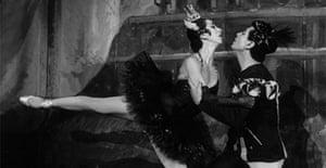 Nina Vyroubova and Serge Lifar in a Paris Opera Ballet production of Snow White.