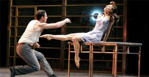 Alan Vincent and Michala Meazza in The Car Man, Sadler's Wells, London