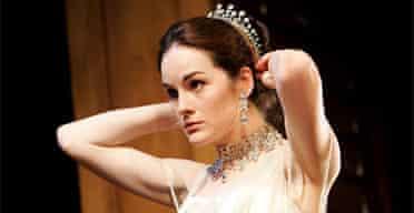 Michelle Dockery as Eliza Doolittle in Pygmalion, Theatre Royal, Bath