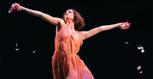 Belinda Hatley in Five Brahms Waltzes in the Manner of Isadora Duncan, Ballet For The People, Ballet Boyz Gala, Royal Festival Hall
