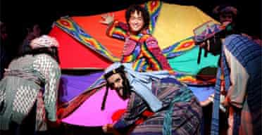 Lee Mead in Joseph and the Amazing Technicolor Dreamcoat, Adelphi