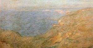 Falaise pres de Dieppe (Cliffs near Dieppe) by Monet