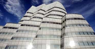 Frank Gehry's first New York building, the IAC Building