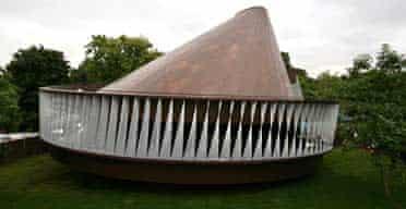 Serpentine Gallery Pavilion designed by Kjetil Thorsen and Olafur Eliasson