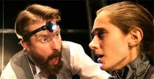 Tom Lyall and Daniela Garcia Casilda in The Terrific Electric, Boilerhouse, Barbican Pit