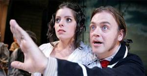 Sophia Linden (Susan) and Philip Ralph (William) in Black Eyed Susan, Theatre Royal, Bury St Edmunds