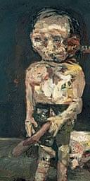 Georg Baselitz's The Big Night Down the Drain